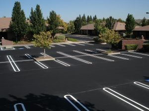 New Parking Lot Paving job completed in New Kent, Virginia